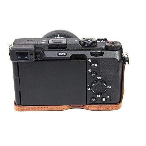 ソニー α7C用 ケース Sony ILCE-7C用 カバー ソニー A7C用 カメラケース ボディケース 三脚穴付き バッテリーの交換|finance-inovation|02