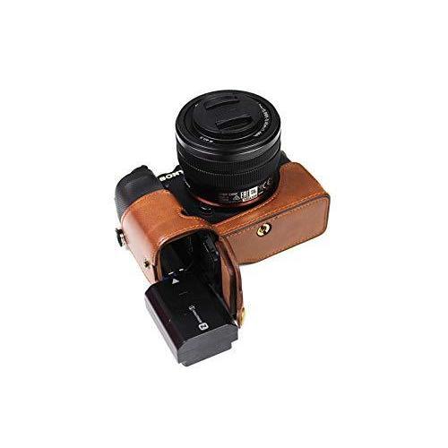 ソニー α7C用 ケース Sony ILCE-7C用 カバー ソニー A7C用 カメラケース ボディケース 三脚穴付き バッテリーの交換|finance-inovation|03