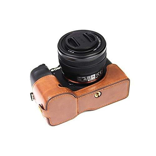 ソニー α7C用 ケース Sony ILCE-7C用 カバー ソニー A7C用 カメラケース ボディケース 三脚穴付き バッテリーの交換|finance-inovation|05