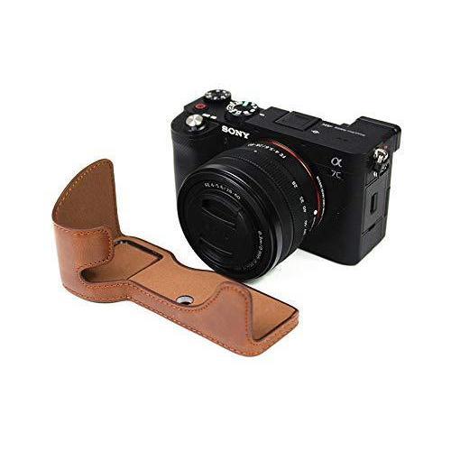 ソニー α7C用 ケース Sony ILCE-7C用 カバー ソニー A7C用 カメラケース ボディケース 三脚穴付き バッテリーの交換|finance-inovation|07