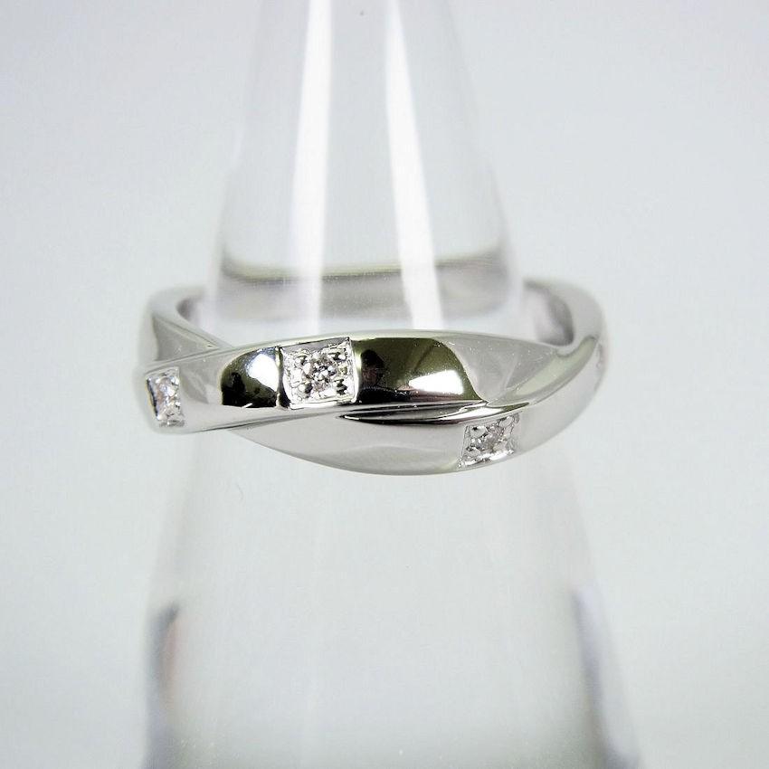 【代引可】 【 K18】VENDOME ダイヤモンド/ヴァンドーム K18 ダイヤモンド リング リング 11号 [f21-8], キソガワチョウ:4057e0de --- airmodconsu.dominiotemporario.com