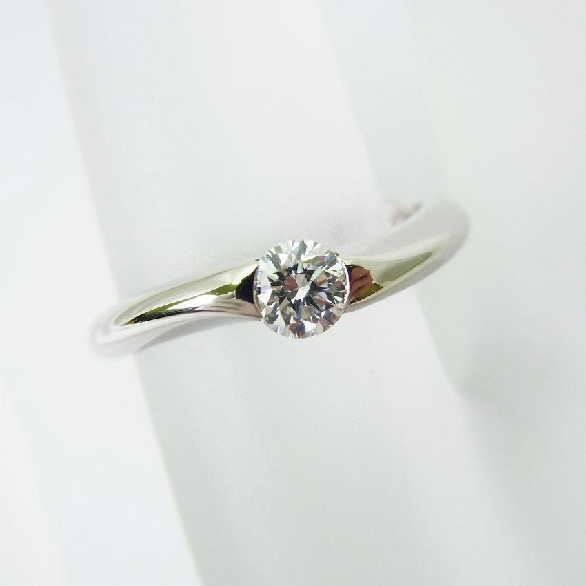 特価ブランド 【】ROYAL ASSCHER/ロイヤル・アッシャー ダイヤモンド リング 0.24ct F VS-2 7.5号[f366-5b], ワンダープライス 320d9513