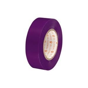 (業務用300セット) ヤマト ビニールテープ/粘着テープ 〔19mm×10m/紫〕 NO200-19