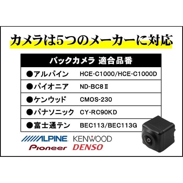 スズキ ハスラー(MR31S/MR41S)バックカメラ取付けキット first-create 03