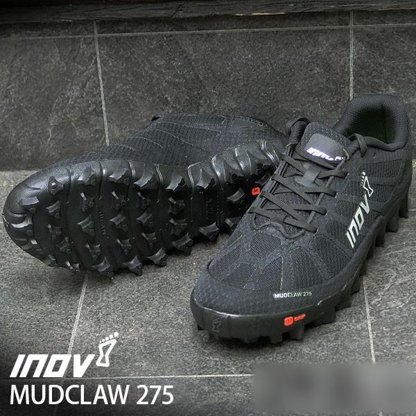 トレッキングシューズ inov-8 MUDCLAW 275 UNI Black/Silver ブラック/シルバー イノベイト デサント