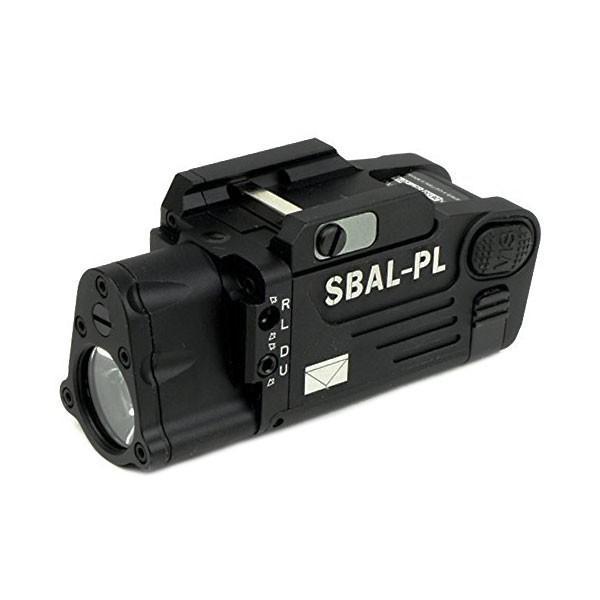 SBAL-PLタイプ ピストルライト BK ブラック 高輝度 小型 コンパクト 20mmレイル ハンドガンにも G19用