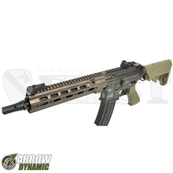HK416 Geissele SMR カスタム 電動ガン TAN タンカラー 電動ガン 海外製 アローダイナミック 18歳以上 import (18erm)