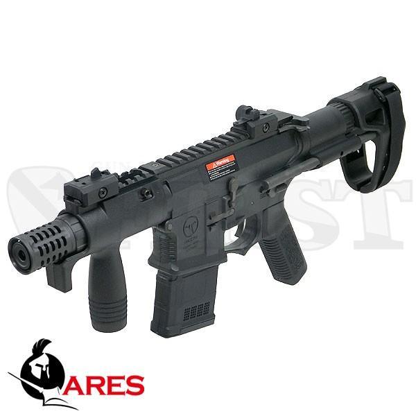 ARES AMOEBA M4 CQB マスター PDW 電動ガン BK (EFCSシステム搭載) ブラック アモエバ アレス 完成品