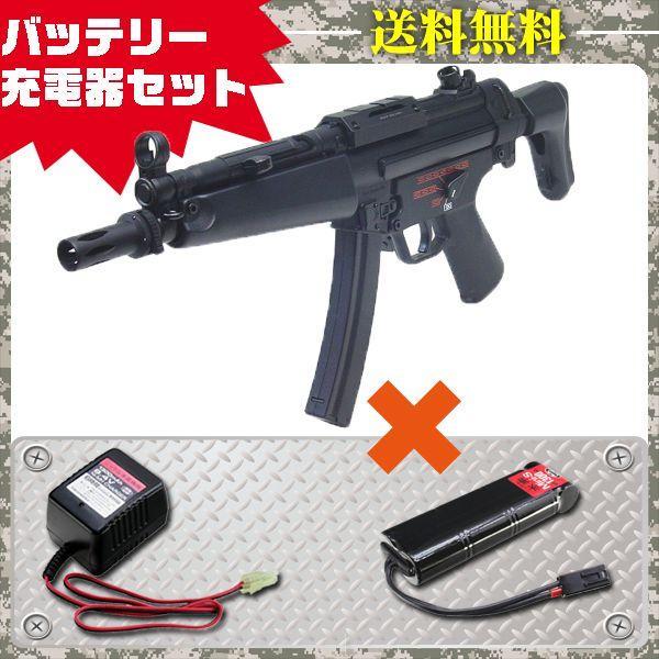 (3点セット品)電動ガン 東京マルイ MP5 J シンプルセット(純正) フルセット