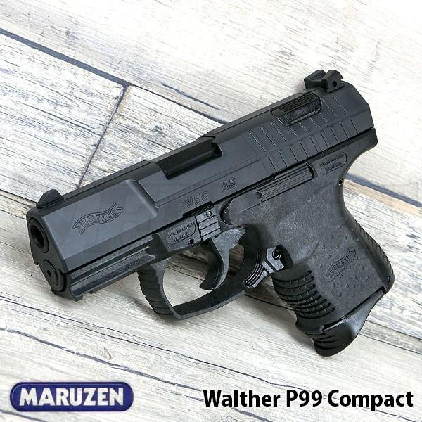 マルゼン ワルサーP99 コンパクト ガスブローバックハンドガン 18歳以上 007 ボンド ドイツ MARUZEN Walther