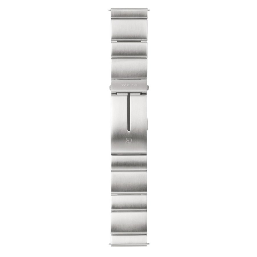 wena wrist Silver|firstflight