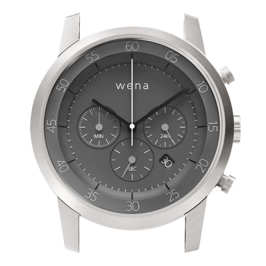 wena wrist用 Chronograph Silver Head|firstflight