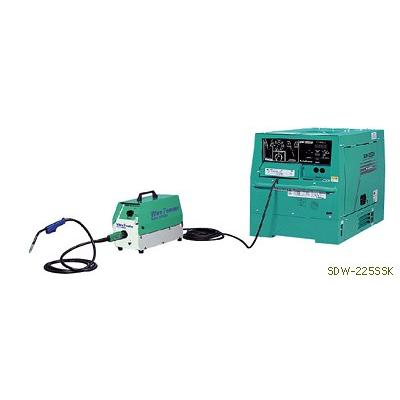 デンヨー セルフシールド/炭酸ガス溶接機 SDW-225SSK