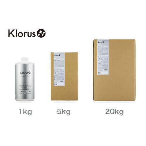 Klorus(クロラス) クロラス酸水 クロラス除菌ウォーター 亜塩素酸濃度8000ppm 20kg