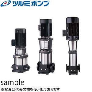 鶴見製作所(ツルミポンプ) 一般揚水用 立形多段うず巻インラインポンプ TCR3-4 50Hz(東日本用)