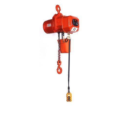 象印 三相200V 電気チェーンブロック DA-00960 0.9t×6M(高速) 2点押ボタン