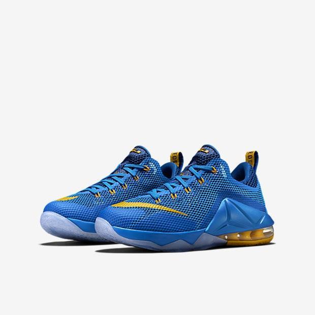 Nike LeBron James 12 low ナイキレブロン ジェームズ 12 low ローカット -キッズ(小中学生用)/レデーズ Photo 青/Gym 青/Artisan Teal/Hot Lava