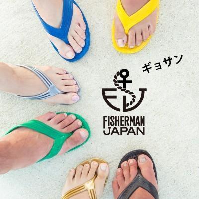 FJオリジナル ギョサン /サンダル/ビーチサンダル/ 6色 fishermanjapan