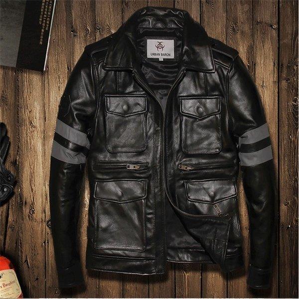 2018新入荷 メンズファッション レザージャケット 牛革ジャケット 細身タイプ ライダーメンズ 牛革バイクジャケット ライダースジャケット バイクウェア, 文化堂印刷:7e179547 --- levelprosales.com