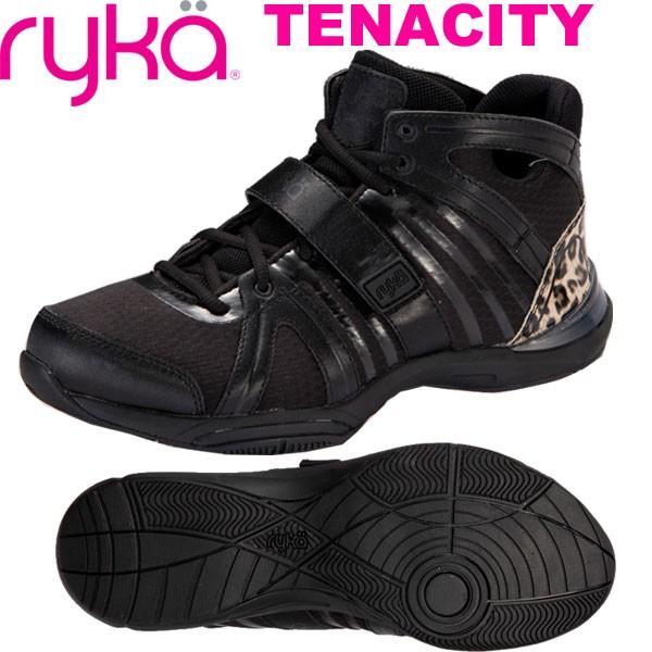 当社の RYKAライカ フィットネスシューズ TENACITYテナシティー E1269M-O004 (ブラック/ひょう柄エナメルヒール)(22.0〜28.0cm/レディース/メンズ), サクライシ ba6b42f9