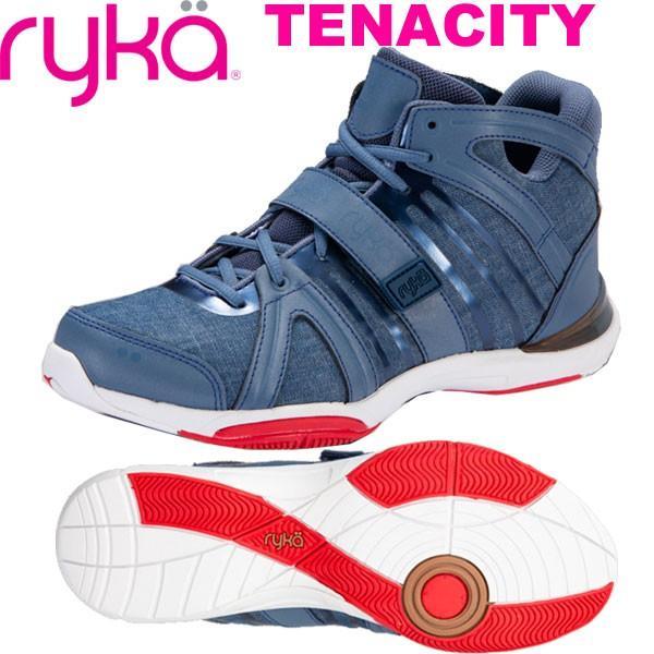 新しいコレクション RYKAライカ フィットネスシューズ TENACITYテナシティー E1269M-P401 (ブルー/デニム風)(25.0〜26.5cm/レディース/メンズ), 最も  2278f32d