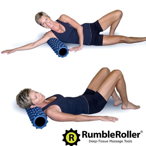 ランブルローラー 正規代理店 ミドルサイズ 長さ55cm ソフトタイプ スタンダードフォーム Rumble Roller VOCE ヴォーチェ スッキリ|fitnessclub-y|05