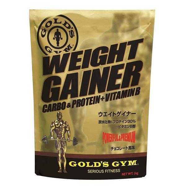 ゴールドジム ウエイトゲイナー チョコレート風味 3kg ゴールド'S GYM