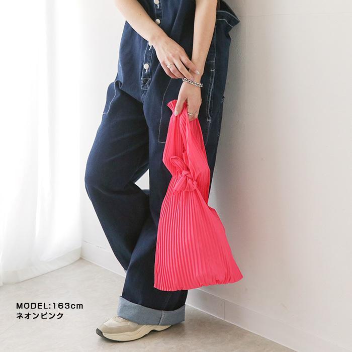 [送料無料]プリーツショッパー バッグ トートバッグ エコバッグ 雑貨 鞄 bag レディース 春夏 2021SS新作 メール便可|fitpromotion|10