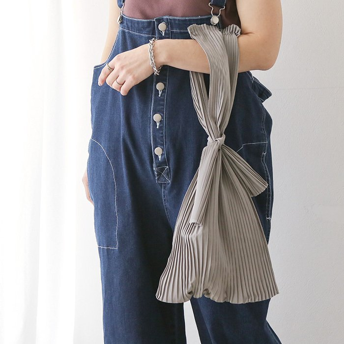 [送料無料]プリーツショッパー バッグ トートバッグ エコバッグ 雑貨 鞄 bag レディース 春夏 2021SS新作 メール便可|fitpromotion|14