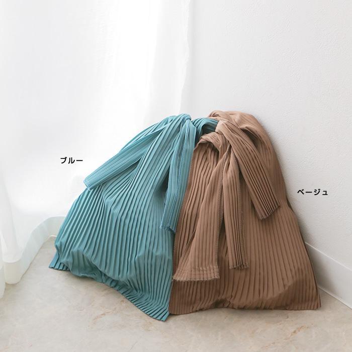 [送料無料]プリーツショッパー バッグ トートバッグ エコバッグ 雑貨 鞄 bag レディース 春夏 2021SS新作 メール便可|fitpromotion|07