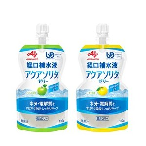 経口補水液 アクアソリタゼリー ゆず風味 130g 味の素株式会社|fjdrug|02