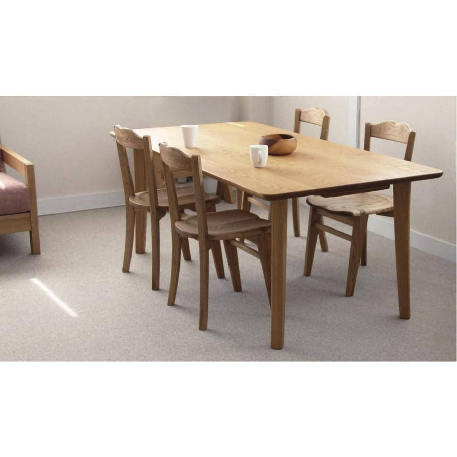 M180テーブル 1800 ナチュラル/ダーク chestnuts 栗材 遊木舎 国産