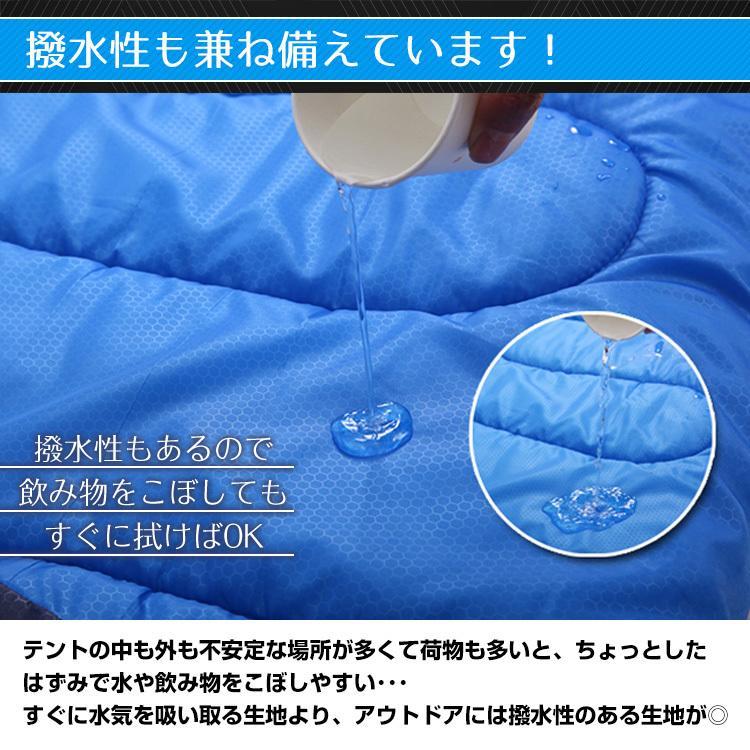 寝袋 シュラフ 車中泊 冬用 防寒 封筒型 コンパクト 収納 安い 暖かい 洗える 子ども 大人 掛け布団 連結可能 キャンプ 防災 1.95kg ad010 fkstyle 10