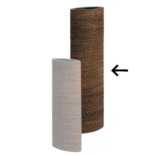 エスキート / 鉢カバー ナチュラル 楕円形 L 高さ1m20cm【メーカー直送品のため、代引き・ラッピング・同梱不可】