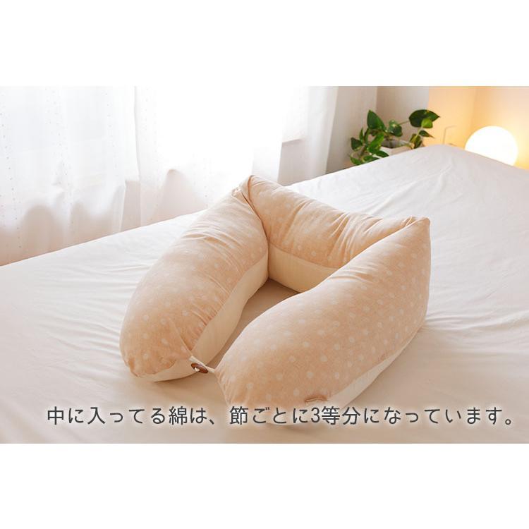 ECOレシピ オーガニックコットン 2WAY マルチピロー 授乳クッション 送料無料 ポイント2倍 flaner-baby 09