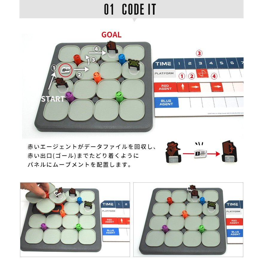 ThinkFun ハッカー tf017/シンクファン HACKER(CAST)/お取寄せ|flaner-y|04