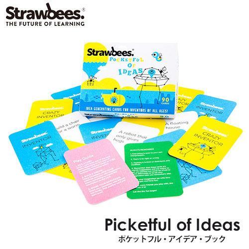 STRAWBEES ポケットフル・アイデア・ブック ストロービーズ(CAST)/メール便可/お取寄せ flaner-y