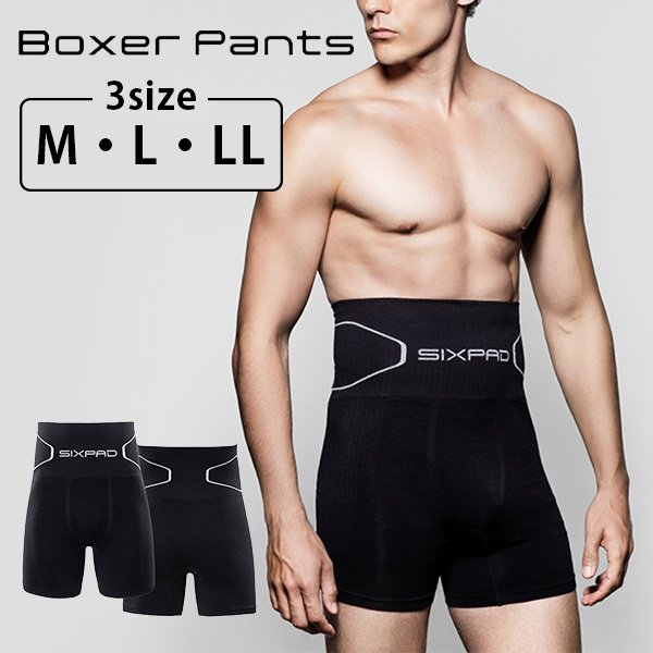 SIXPAD Boxer Pants シックスパッド ボクサーパンツ M L LL(MTG)/メール便可/在庫有(DM)|flaner-y