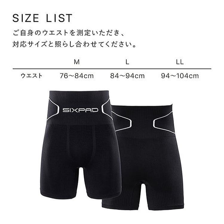 SIXPAD Boxer Pants シックスパッド ボクサーパンツ M L LL(MTG)/メール便可/在庫有(DM)|flaner-y|05