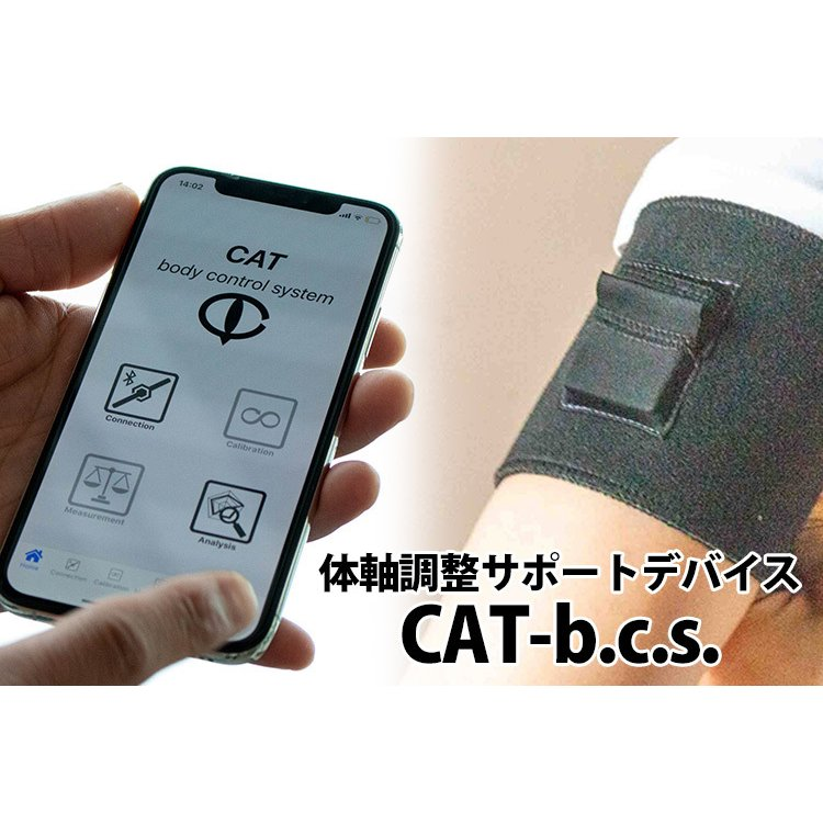 正規販売店 CAT−b.c.s. スマホで身体の歪みを測定・補正 体軸調整サポートデバイス(ALEX)/在庫有 flaner-y 03