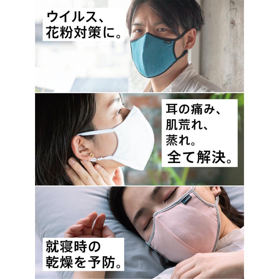 プロテクション保温マスク 調湿 消臭 布マスク 日本製(GNR)/メール便無料/一部在庫有(DM)|flaner-y|04