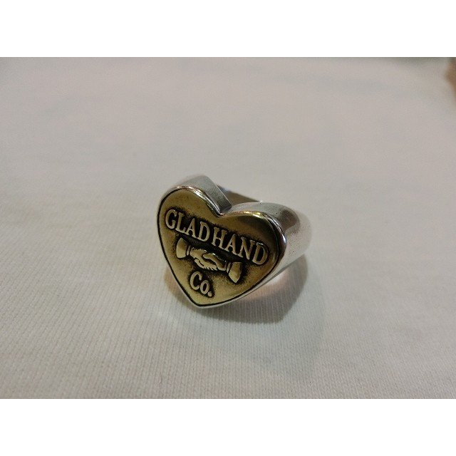 人気No.1 glad hand (グラッドハンド) glad SMALL GLAD HAND & Co. Co. BUTTON RING HEART SMALL Silver925 ピンキーリング 指輪, デコレ:34cdd7b4 --- airmodconsu.dominiotemporario.com