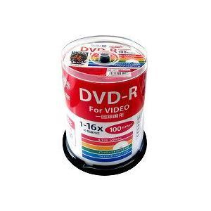HIDISC CPRM対応 録画用DVD-R 16倍速対応 100枚地デジ録画に最適!|flashstore