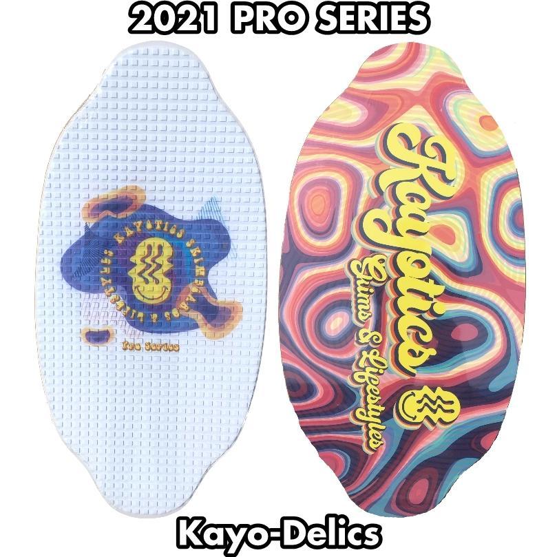 フラットスキム ランド Kayotics カヨティックス 2021 Pro Series「Kayo-Delics」 Size:104cm×52cm flatskimjapan