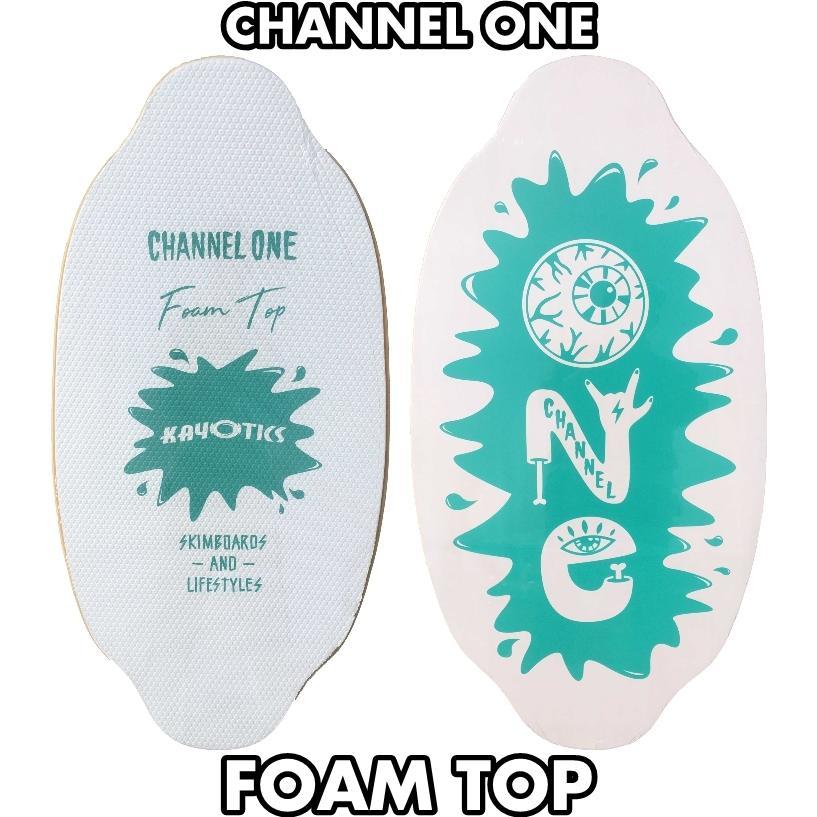 フラットスキム ランド Kayotics カヨティックス Channel-One フォームトップ Size:99.5cm×49.5cm|flatskimjapan