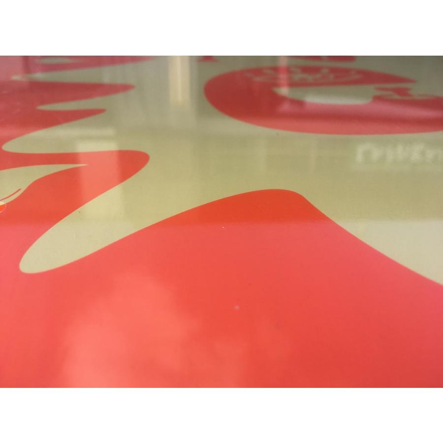フラットスキム ランド Kayotics カヨティックス Channel-One オレンジxベージュ Size:99.5cm×49.5cm デッキテープ付|flatskimjapan|04
