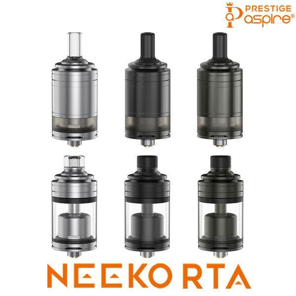 Aspire Neeko RTA アスパイア ニーコ RTA 電子タバコ vape アトマイザー 直径22mm RTA シングル ビルド MTL 味重視