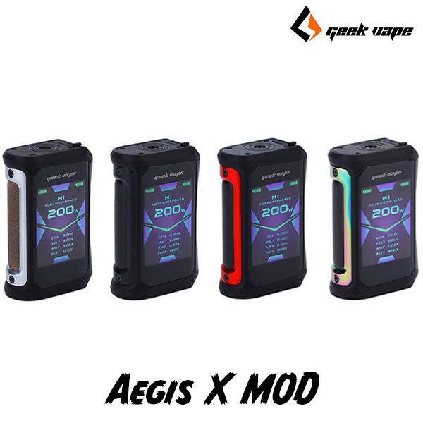 Geekvape Aegis X MOD ギークベープ イージス エックス 電子タバコ vape mod テクニカルboxmod 18650 デュアル テクニカルmod カラー