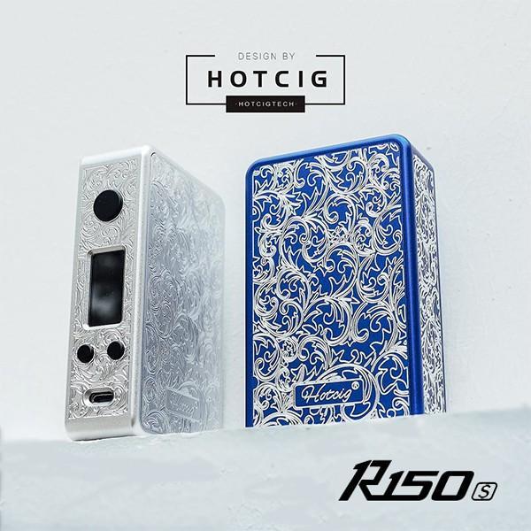 Hotcig R150s MOD ホットシグ 電子タバコ vape mod テクニカル box mod デュアルバッテリー べイプ