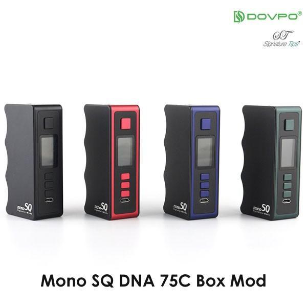 Dovpo Mono SQ DNA75C MOD ドブポ モノ SQ エスキュー DNA 75C チップセット 基板 vape mod テクニカルBOXMOD 18650 シングル バッテリー mod